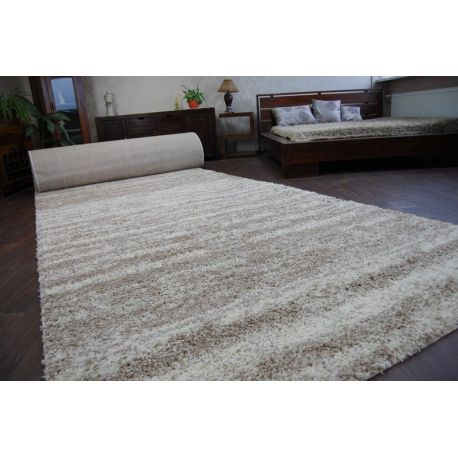 Carpet wall to wall SHAGGY 5cm design 3383 ivory beige