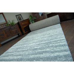 Vloerbedekking SHAGGY LONG 5cm patroon 3383 grijs wit