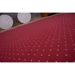 Fitted carpet AKTUA 116 claret