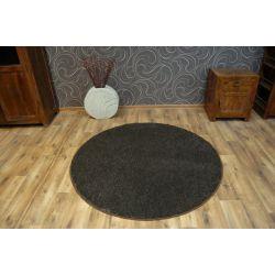 Carpet circle LAS VEGAS brown