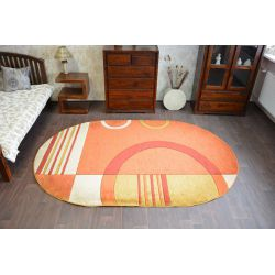 Teppich oval GRAND 8308 terra