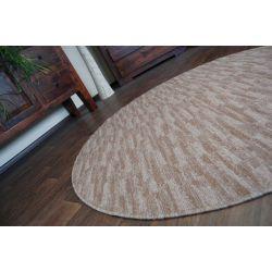 Carpet circle HIGHWAY mocca