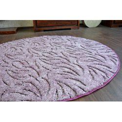 Carpet round IVANO purple