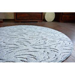 Carpet round IVANO grey