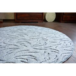 Kulatý koberec IVANO šedá
