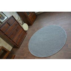 Carpet round UTOPIA grey