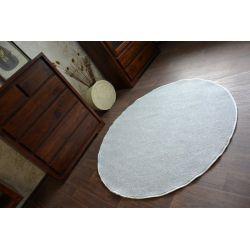Carpet round UTOPIA silver