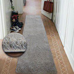 Shaggy futó szőnyeg 5cm szürke