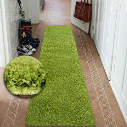 Runner SHAGGY 5cm green