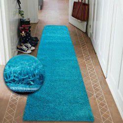Shaggy futó szőnyeg 5cm türkiz