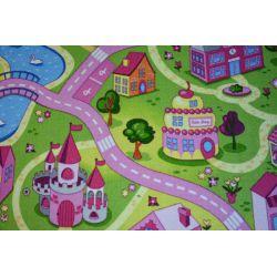 Detský koberec SWEET TOWN Sladké mesto