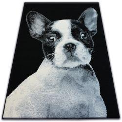 Tapijt BCF FLASH 33327/190 - Franse bulldog