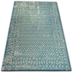 Carpet VINTAGE 22209/644 turquoise / cream classic