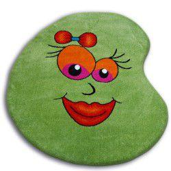 Kulatý koberec PAINT - 1552 zelená