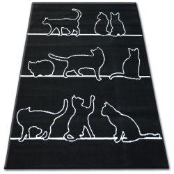 Carpet BCF FLASH 33322/190 - Cats