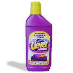 Шампунь до килимів та оббивок CLEVER 500мл