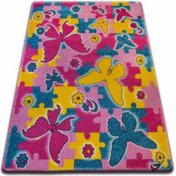 Covor Kids Fluture roz C429