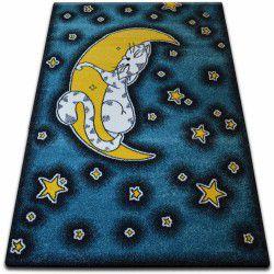 gyerekek szőnyeg Macska kék C414