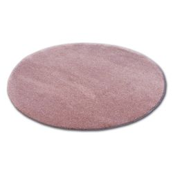 Covor rotund Shaggy Micro roz