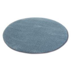 Tepih krug čupavi MICRO Siva