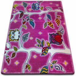 Carpet KIDS Forest pink C427