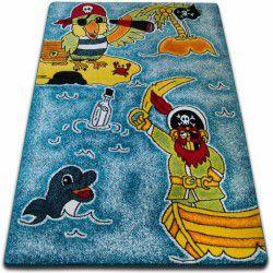 Carpet KIDS Pirates blue C416