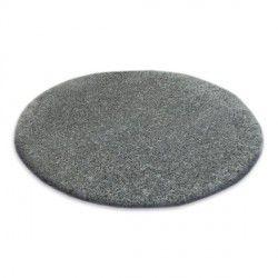 Shaggy narin szőnyeg kör P901 szürke