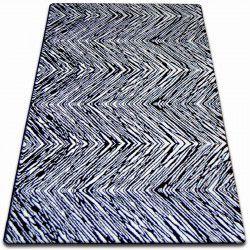 Sketch szőnyeg - F754 krém/fekete- Cikcakk