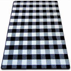 Carpet SKETCH - F759 cream/black - chequered