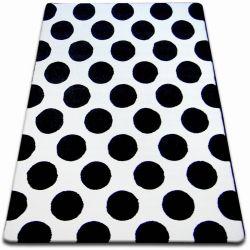 Carpet SKETCH - F761 cream/black - circle