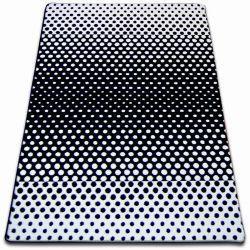 Sketch szőnyeg - F762 krém/fekete- Pontok