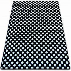 Carpet SKETCH - F764 black/cream- dots