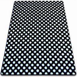 Sketch szőnyeg - F764 fekete/krém - Pontok