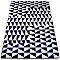 Carpet SKETCH - F765 cream/black - chequered