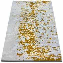 Tapete ACRÍLICA BEYAZIT 1797 C. Branco/Gold