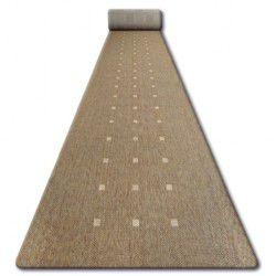 Sizal futó szőnyeg FLOORLUX minta 20079 coffe / mais