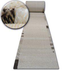 Alfombra de pasillo SHADOW 8597 crema/beige claro