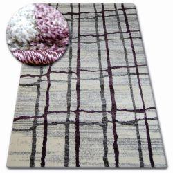 Shadow szőnyeg 9359 fehér / lila