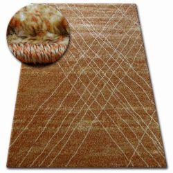 Carpet SHADOW 9367 rust / gold