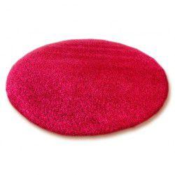Shaggy szőnyeg kör 5cm bordó