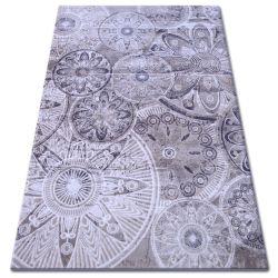Carpet ACRYLIC FLORYA 0242 beige brown