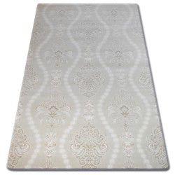Carpet ACRYLIC FLORYA 0281 Cream/White