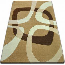 Focus szőnyeg - F242 bézs NÉGYZET NÉGYSZÖG karamella