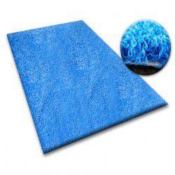 Vloerbedekking SHAGGY 5cm blauw