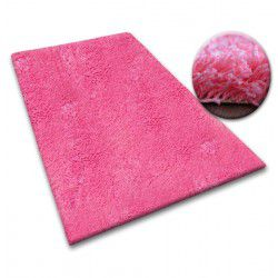 Carpet - wall-to-wall SHAGGY 5cm pink