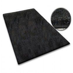Shaggy szőnyegpadló 5cm fekete