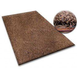 Vloerbedekking SHAGGY 5cm bruin