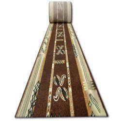 Tapis de couloir HEAT-SET PRIMO 5123 marron