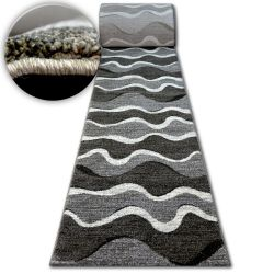 Alfombra de pasillo SHADOW 8649 negro/gris claro
