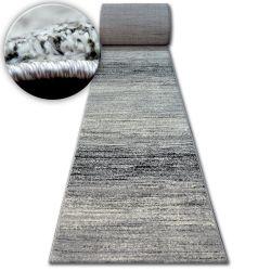 Alfombra de pasillo SHADOW 8622 blanco/negro